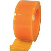 Завеса полосовая непрозрачная оранжевая 2x200мм