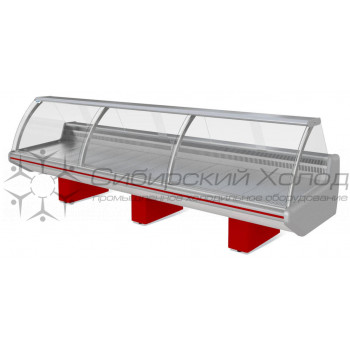Холодильная витрина ВХСн-2.5 Парабель Марихолодмаш