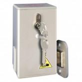 Замок с ключом для откатной двери Fermod 57 (крепится на раме)
