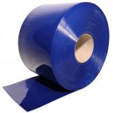 Завеса полосовая непрозрачная синяя 2x200мм