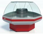 Холодильная витрина Gamma-2 OC 90 (угол внешний) Cryspi