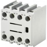 Блок дополнительных контактов CBD 22 Danfoss 037H3065