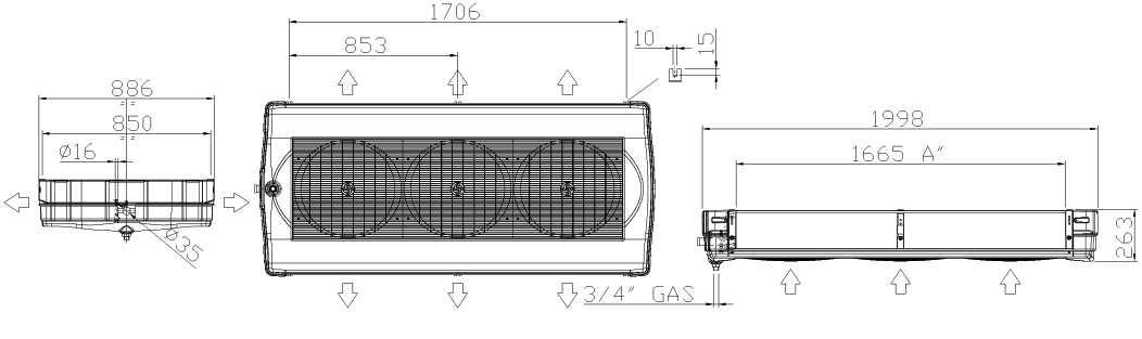Воздухоохладитель FHD 732 E 3 LU-VE