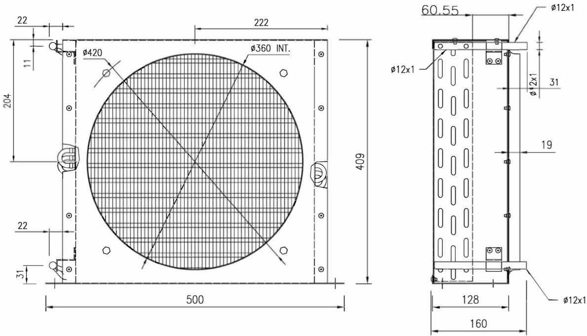 Воздушный конденсатор 351-5